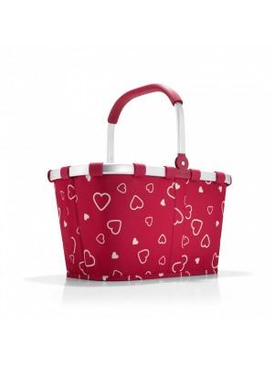 Koszyk na zakupy carrybag patchwork hearts