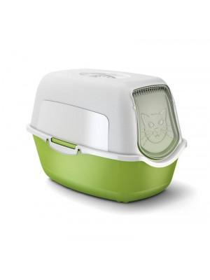 Toaleta dla kota zielona