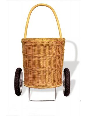 wózek z wikliny