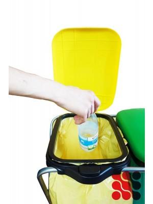 Kosz do segregacji śmieci stojak na worki BILLY MATIK 1