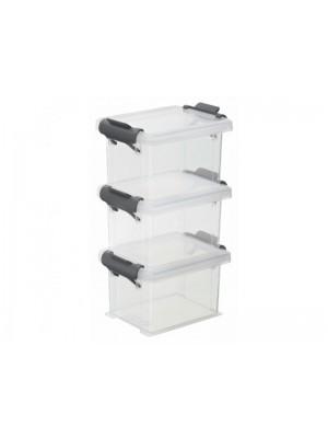 pudełka plastikowe z klapą