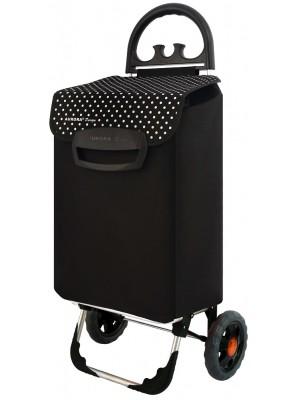 Wózek na zakupy Milano (Czarny)