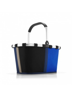 Koszyk na zakupy carrybag  patchwork royal blue