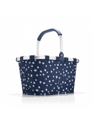 Koszyk na zakupy carrybag spots navy