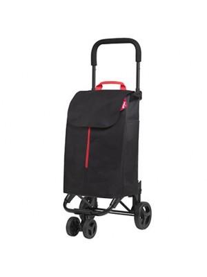 Wózek na zakupy GIMI TWIN NEW (Czarny)