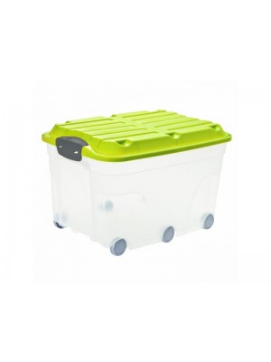 kufer plastikowy z kółkami