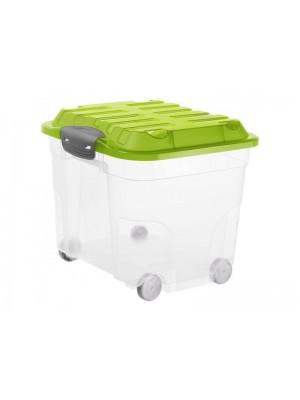 kufer plastikowy na kółkach