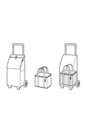 wózek reisenthel trolley black