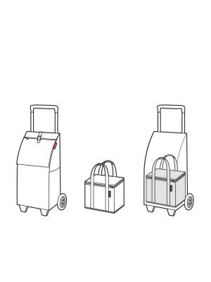 markowy wózek na zakupy