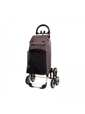 Wózek na zakupy PARIS (brązowy)
